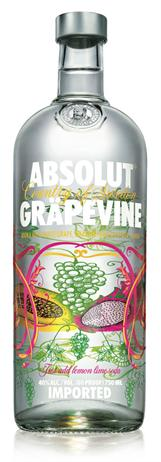 Absolut Vodka Grapevine